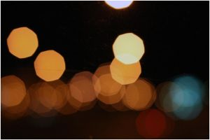 Classic out of focus Lights by Filmdirector