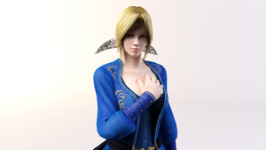 3DS Max - Helena Render by SilverMoonCrystal