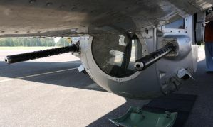 B-17 Ball Turret by shelbs2