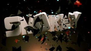 Cinema 4D -- Text Explosion by SMOKEYoriginalHD