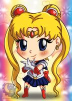 Chibi Sailor Moon by TwoTigerMoon