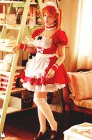 Asuka Langley - maid version by JuTsukinoOfficial