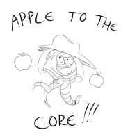 Apple to the core ! by Valinhya