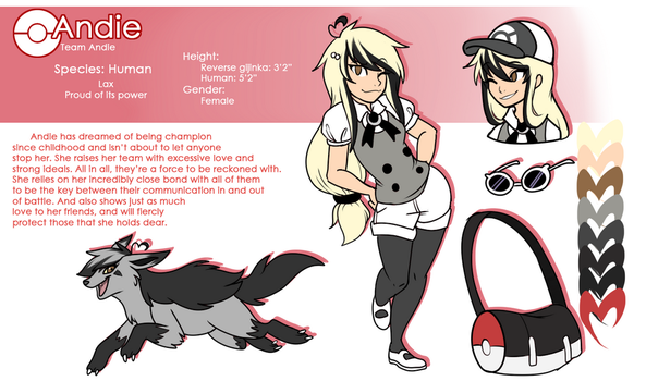 Trainer Andie Reference by Skitea