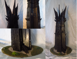 The Tower of Orthanc by jazzlovessilkies