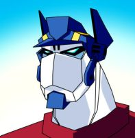 Animated Prime headshot by dcjosh