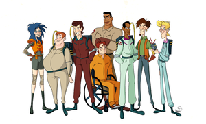 The Real and The Extreme Ghostbusters by chillyfranco