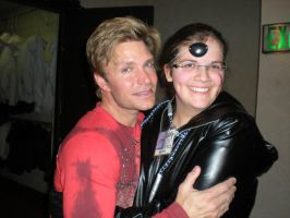 Me and Vic Mignogna at Anime Crossroads 2011 by snowcloud8