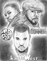 Lupe, Common and Kanye by luvtuya