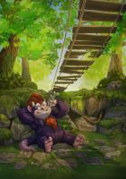 Under The Bridge by charco