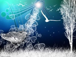Bird_dreaming by Ognegrivka