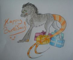 Bday gift for Gehirnesser c: by KarneTia