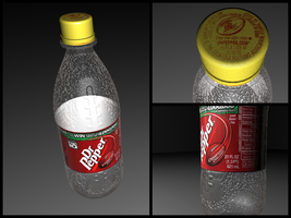 Maya Creation : Dr Pepper by VinceJay