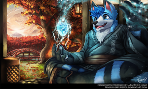 Commission for Lumo by PenguinEXperience