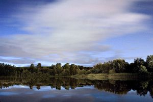 Lough Erne at Night by mole2k