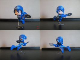 Megaman Sculpture by BThomas64
