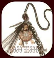 Dreamcatcher Necklace by Bojo-Bijoux