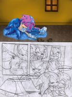 Sonamy Comic Our battles 19 by heitor-jedi