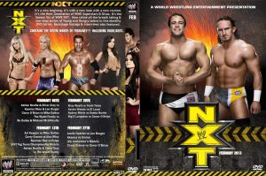 WWE NXT February 2013 DVD Cover by Chirantha