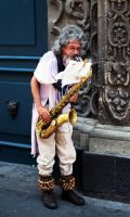 The Saxophonist by herygp