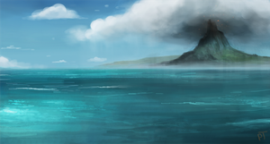 Day 510. Environment Speed Paint by Cryptid-Creations