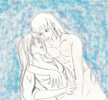 Haku and Annabel request by Amazair