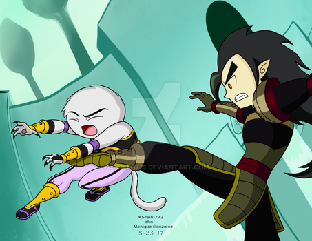 Jian vs Chase by XSreiki772