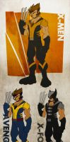 Project: Rooftop Wolverine by Arkangel-Wulf