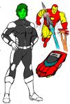 More Future Marvel Sketches by Jochimus