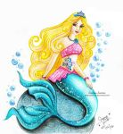 Barbie-Mermaid by areemus