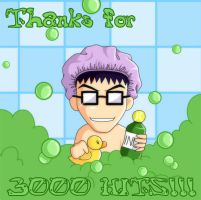 Thanks for 3k by snowbunnyluv