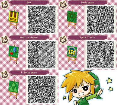 Animal Crossing : LOZ's QR code by PrinceOfRedroses