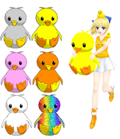 MMD-Ducks DL by Shioku-990