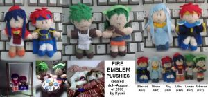 Fire Emblem Plush Series 1 by Kyusil