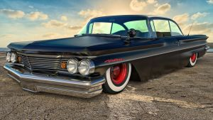 1960 Pontiac Ventura by SamCurry