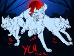 YCH - Blood Moon SOLD by UKthewhitewolf
