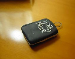 Death Note Key Charm by lunalove2