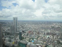 Aerial View of Tokyo 9 by SuperAwesomeStock