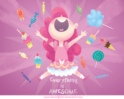 Awesome Pinkie Pie by ilianaGatto