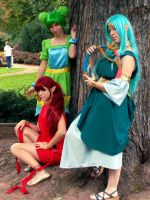 :: Zelda Cosplay - Triforce by Cheetah-chan