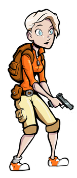 Side Scroller character by Farstride