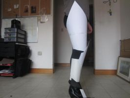 Black Frequency costume/Leg 2 by Redrosesforever