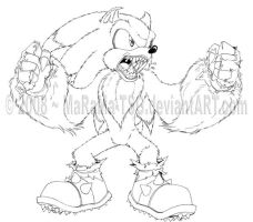 Sonic the Wolfhog by MaRaMa-TSG