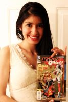 Reading Harley Quinn #5 by thejoannamendez
