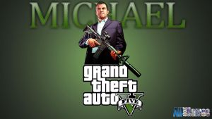 Grand Theft Auto V Michael by eduard2009