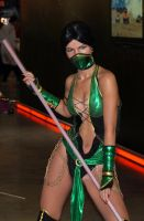 Jade Mortal Kombat 9 cosplay by Nemu013