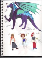 Dragon and humans adoptables #2 closed by XTwilight-SerenityX
