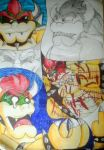 Bowser Doodles and sketches 1 by DarkLuaisy64
