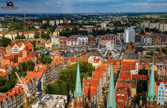 Gdansk - view from tower by KrzysztofSmejlis