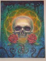 skull and roses by thothflashpan